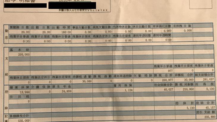 弁護士法人ALG&Associatesの給料明細(ガチ画像)・年収・ボーナス・評判