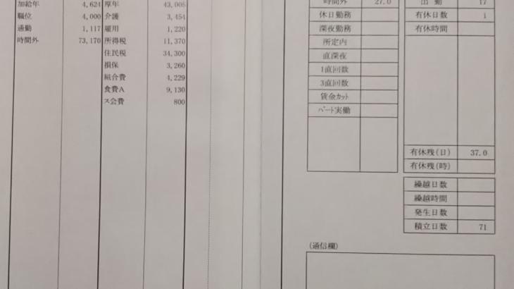 LIXILの給与明細(ガチ画像)・年収・ボーナス・評判