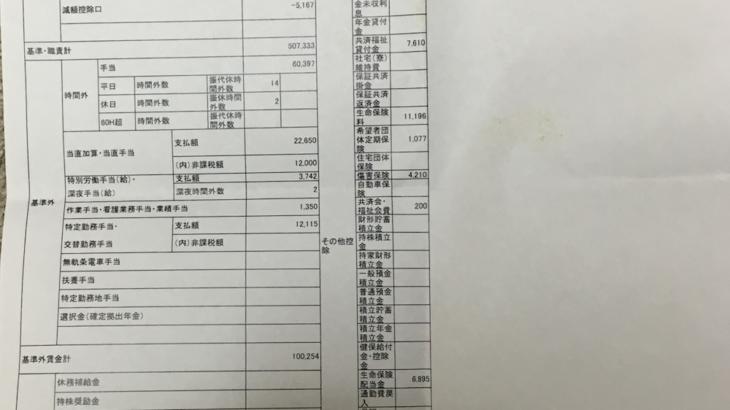 関西電力の給料明細(ガチ画像)・年収・ボーナス・評判