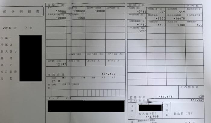 第一生命保険の給料明細【ガチ画像】・年収・ボーナス・評判