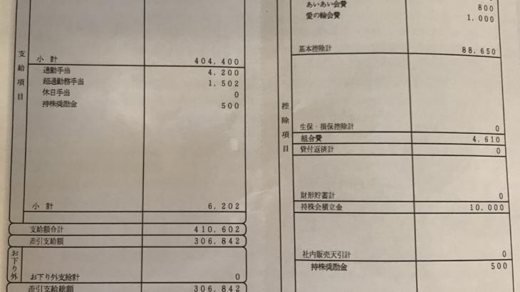 ダスキンの給料明細【ガチ画像】・年収・ボーナス・評判