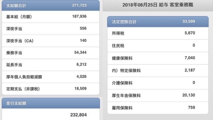 日本航空(JAL)の給料明細【ガチ画像】・年収・ボーナス・評判