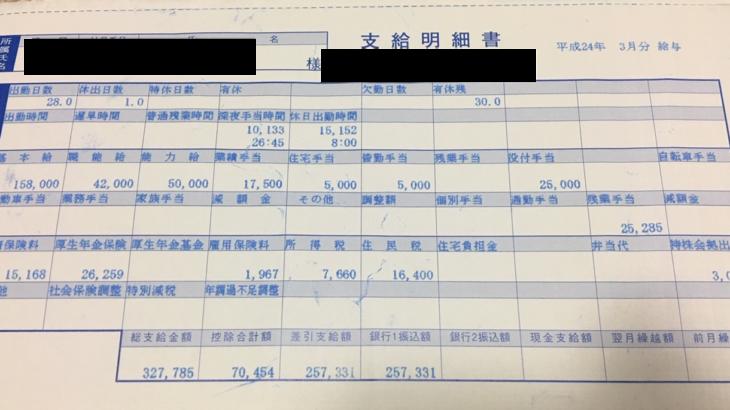 THINKフィットネスの給料明細【ガチ画像】・年収・ボーナス・評判