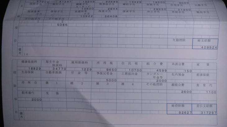 西濃運輸の給与明細【ガチ画像】・年収・ボーナス・評判