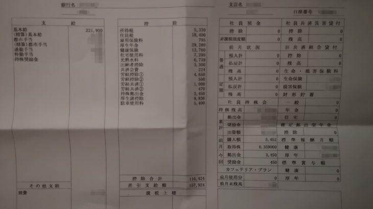 東日本旅客鉄道の給料明細【ガチ画像】・年収・ボーナス・評判