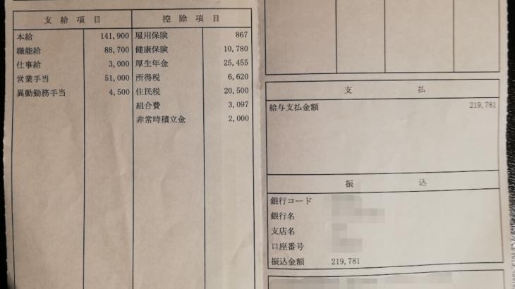 スズキの給与明細【ガチ画像】・年収・ボーナス・評判