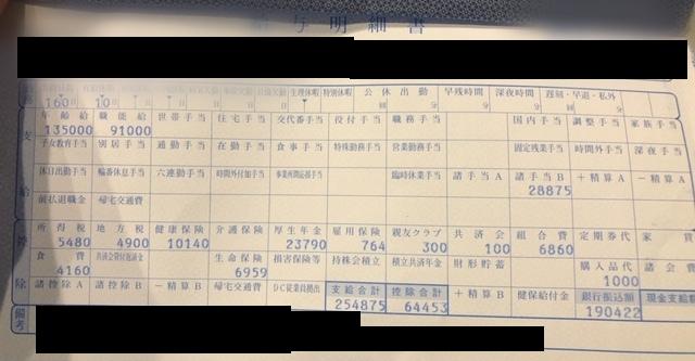 東海染工の給与明細【ガチ画像】・年収・ボーナス・評判