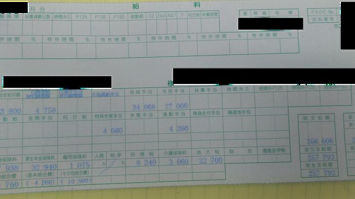 駐留軍等労働者労務管理機構の給料明細【ガチ画像】・年収・ボーナス・評判