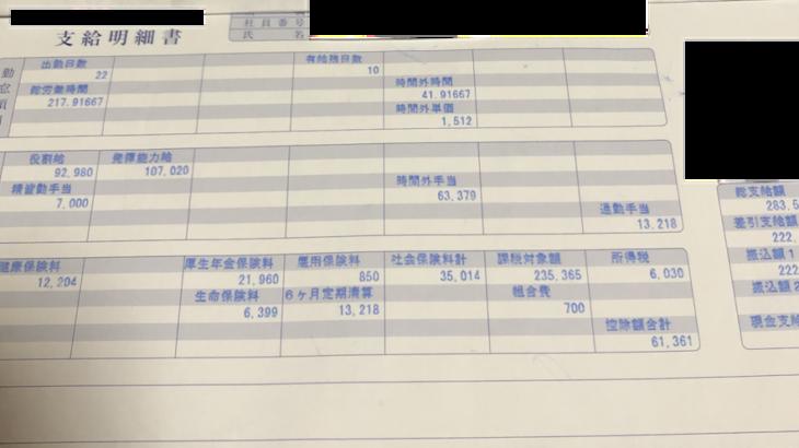 シノブフーズの給与明細【ガチ画像】・年収・ボーナス・評判