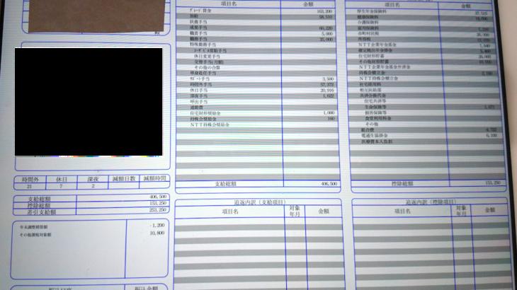 エヌ・ティ・ティ・データの給料明細【ガチ画像】・年収・ボーナス・評判
