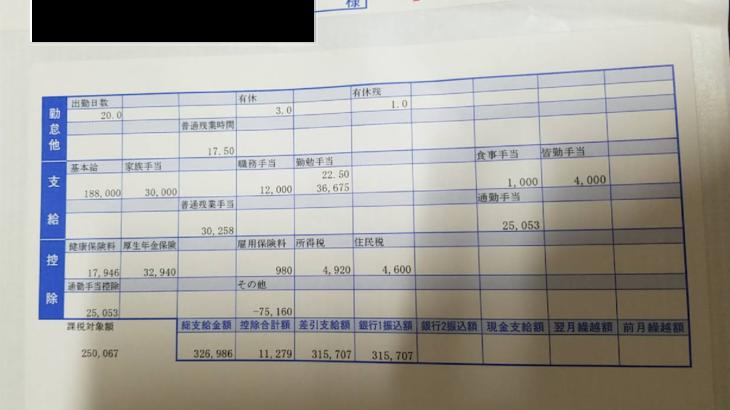 芥川製菓の給料明細【ガチ画像】・年収・ボーナス・評判