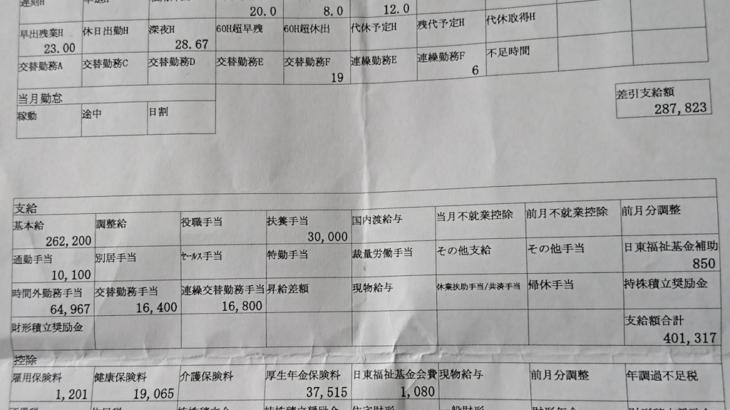 日東電工の給与明細【ガチ画像】・年収・ボーナス・評判