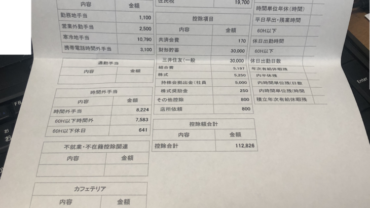 古野電気の給料明細【ガチ画像】・年収・ボーナス・評判