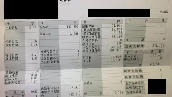 サイバーエージェントの給料明細【ガチ画像】・年収・ボーナス・評判