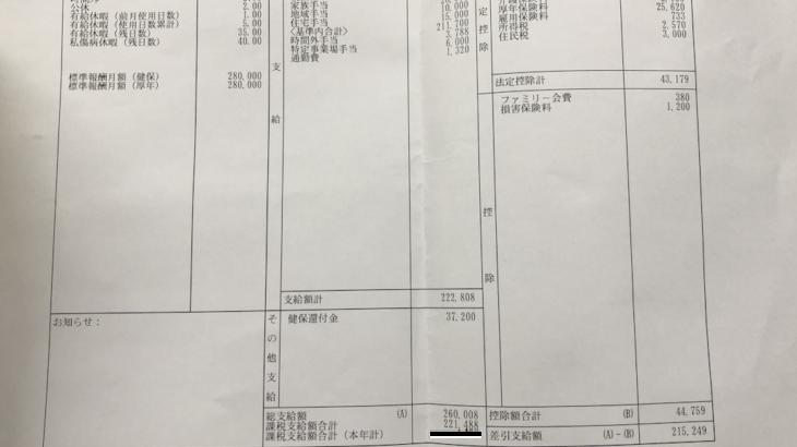 ソフィーナカウンセリングの給料明細【ガチ画像】・年収・ボーナス・評判