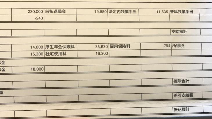 三井食品の給料明細【ガチ画像】・年収・ボーナス・評判