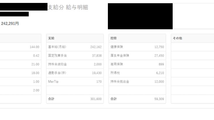 メルカリの給料明細【ガチ画像】・年収・ボーナス・評判