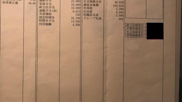 パルラインの給料明細【ガチ画像】・年収・ボーナス・評判