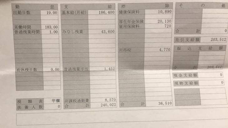 ランドマークの給料明細【ガチ画像】・年収・ボーナス・評判