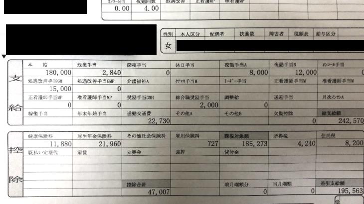 愛総合福祉の給与明細【ガチ画像】・年収・ボーナス・評判