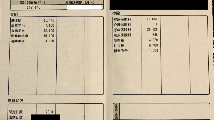 三協テックの給料明細【ガチ画像】・年収・ボーナス・評判