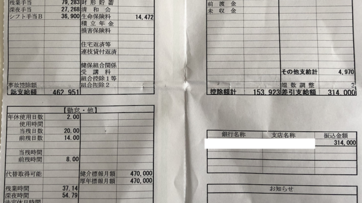 大日本印刷の給与明細【ガチ画像】・年収・ボーナス・評判