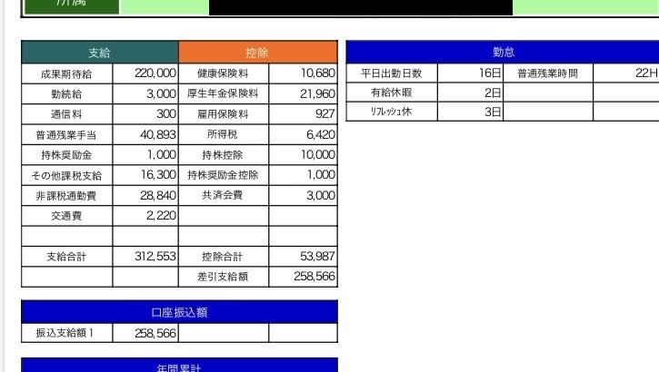 キューブシステムの給料明細【ガチ画像】・年収・ボーナス・評判